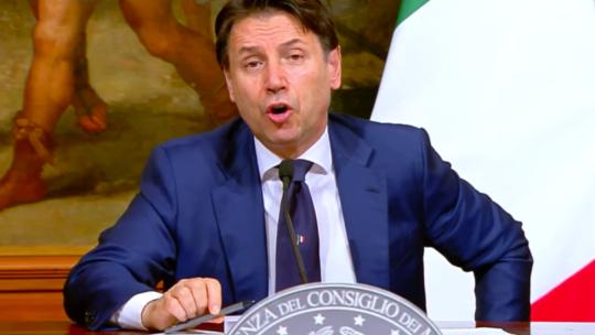 """""""L'Italiatornerà a correre"""", assicura Conte"""