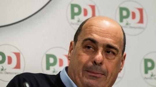 """Zingaretti: """"No a contrapposizione a Conte. Il governo èchiamato a una svolta di qualità"""""""