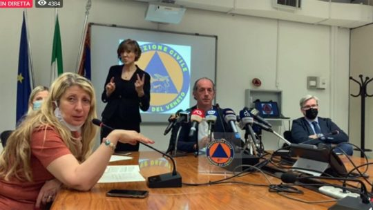 Covid, Veneto: 1000 euro di multa per chi rifiuta l'isolamento