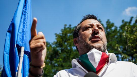 Salvini, in Puglia siamo a sostegno di Fitto