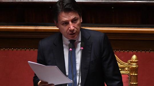"""Stato di emergenza: Conte in aula il 29. Salvini contrario """"non c'è motivo"""""""