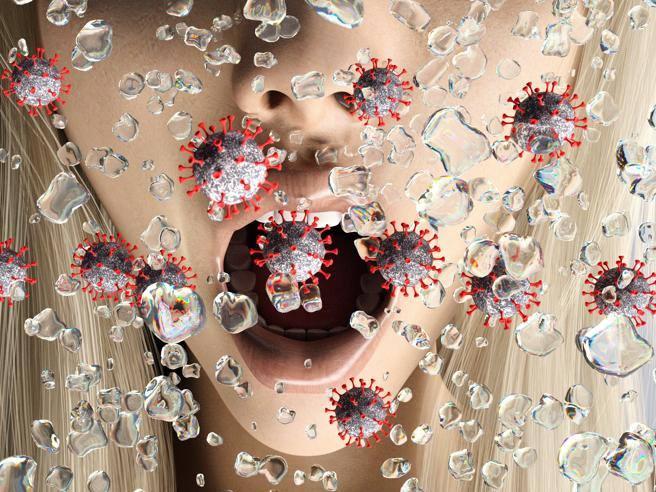 Goccioline di coronavirus vive e infettive isolate nell'aria: la prova in un nuovo studio