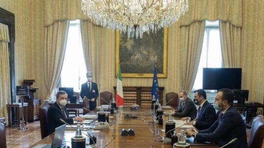 """Salvini apre a Draghi: """"Sintonia sullo sviluppo del Paese"""""""