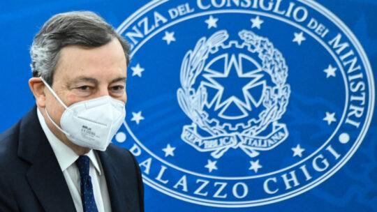 Draghi annuncia la riapertura della scuola e sanzioni per sanitari no vax