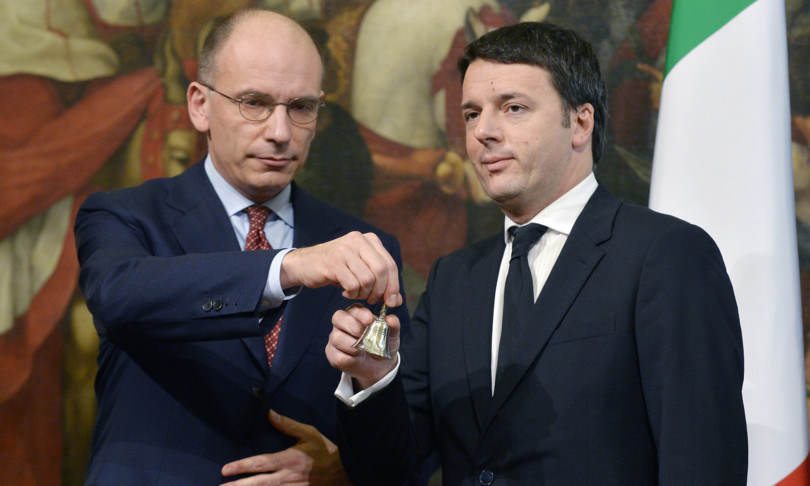 Letta vede Renzi, sostegno a Draghi ma divisi sul M5s